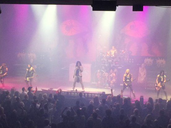 Spending the Night with Alice Cooper, August 21, 2016 Austin, Texas ACL Live Moody Theater